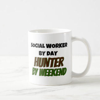 Social Worker by Day Hunter by Weekend Mugs