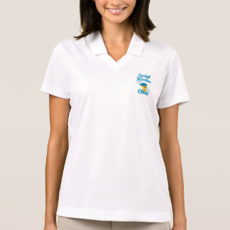 Social Worker Chick #3 Polo Shirt