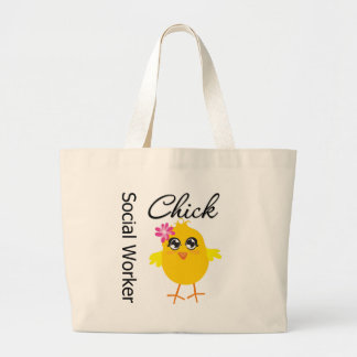 Social Worker Chick Canvas Bags