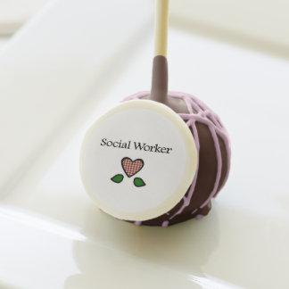 Social Worker Cookies Cake Pops