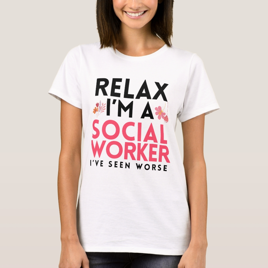 Social Worker Funny Gag Gift Masters Worker LCSW T-Shirt - Best Selling Long-Sleeve Street Fashion Shirt Designs