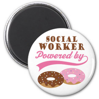 Social Worker Funny Gift Magnet