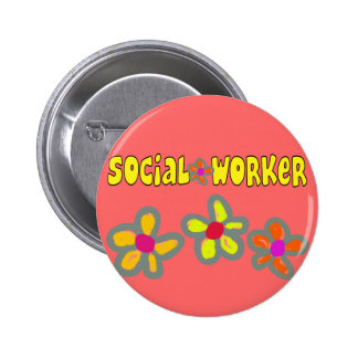 Social Worker Gifts 2 Inch Round Button