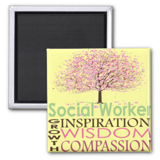 Social Worker Gifts Magnet