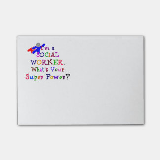 Social Worker Humor Post-it® Notes