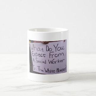 Social Worker In The White House Mug