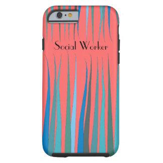 "Social Worker iPhone 6 case ""Magical Garden"""