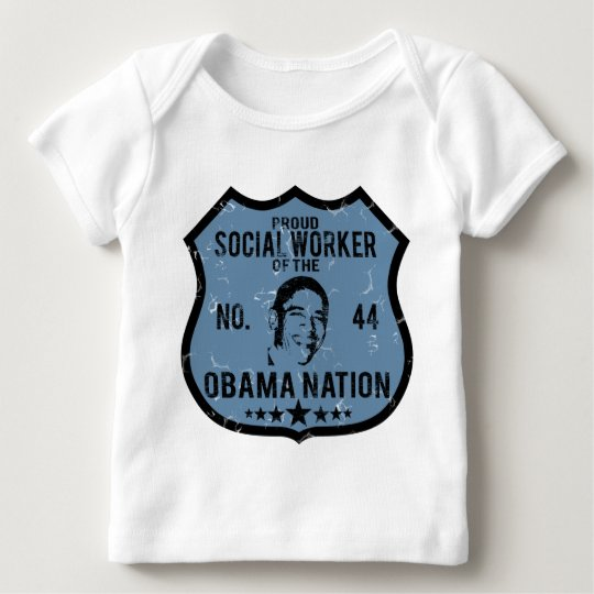 Social Worker Obama Nation Baby T-Shirt