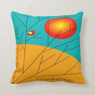 Social Worker Pillow Artsy Trees