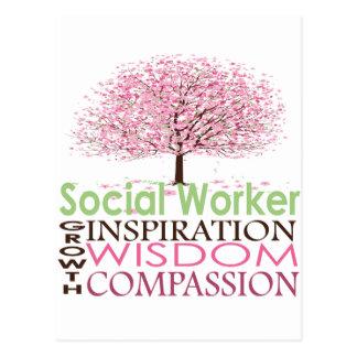 Social Worker Postcard