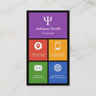 Social Psychology Business Cards Business Card Printing Zazzle