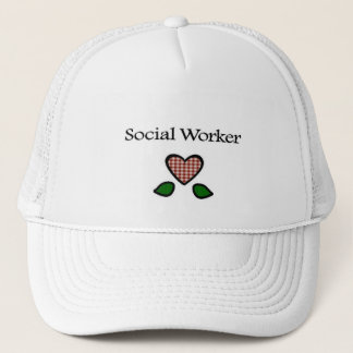 Social Worker Red GH Trucker Hat