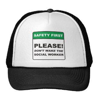 Social Worker / Wake Trucker Hat