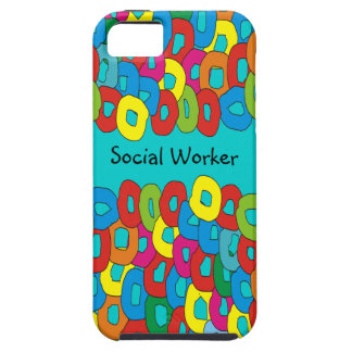 Social Worker Whimsical iPhone 5 Case