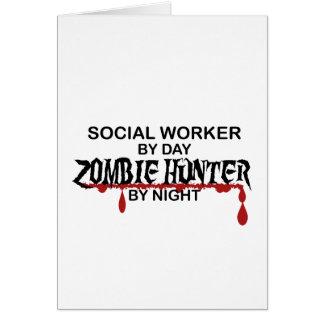 Social Worker Zombie Hunter Card