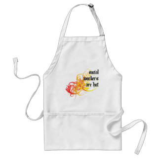 Social Workers Are Hot Adult Apron