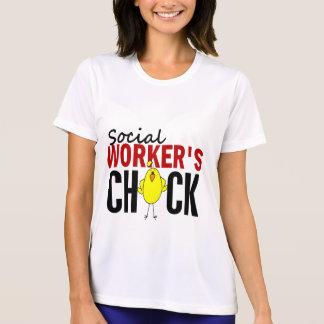 Social Worker's Chick Tee Shirt