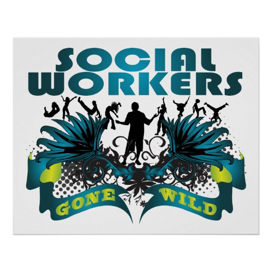 Social Workers Gone Wild Poster