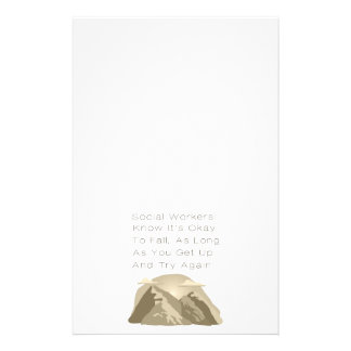 Social Workers Know Motivational Stationery