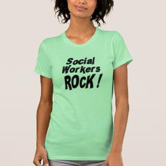 Social Workers Rock! T-shirt