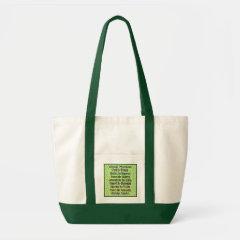 Social workers work! bag
