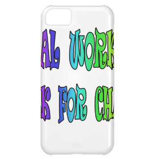 Social Workers Work For Change iPhone 5C Covers