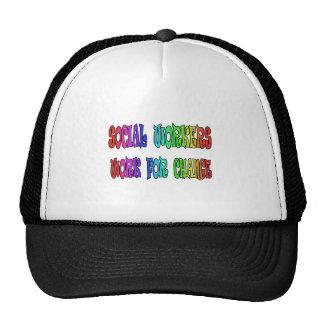 Social Workers Work For Change Trucker Hat
