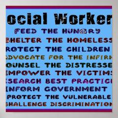 Social Workers Work! Print