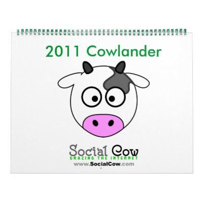 SocialCow.com Cowlander Calendario