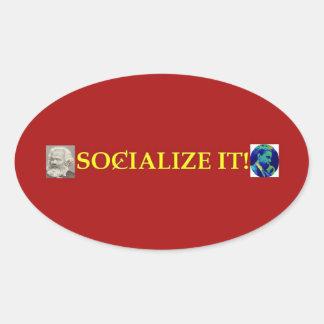 ¡SOCIALÍCELO! pegatina