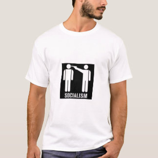 Socialism Black and White T shirt