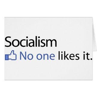 Socialism Card
