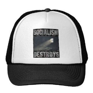 Socialism Destroys Trucker Hat