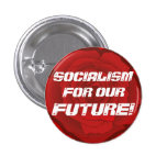 """""""Socialism for our Future!"""" Button"""