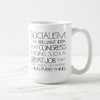 Socialism Is Brilliant Mug
