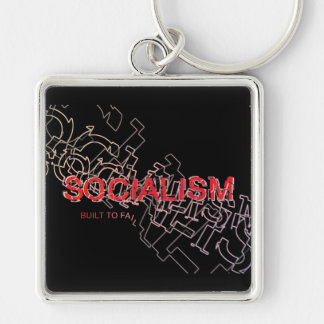 Socialism Is Built To Fail Keychain