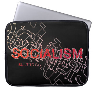 Socialism Is Built To Fail Laptop Computer Sleeve