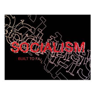 Socialism Is Built To Fail Postcard