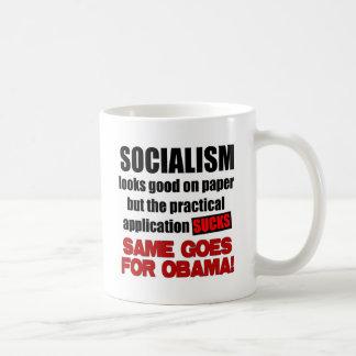 Socialism - Looks Good On Paper Coffee Mug