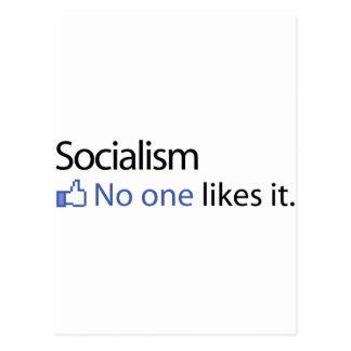 Socialism Postcard