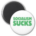 Socialism Sucks 2 Inch Round Magnet