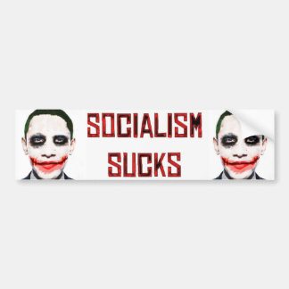 Socialism Sucks Bumper Sticker