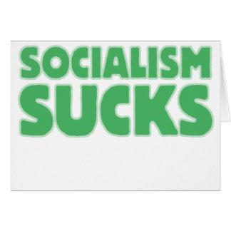Socialism Sucks Greeting Card
