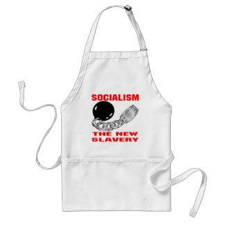Socialism The New Slavery Adult Apron