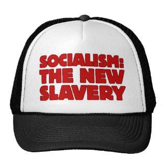 Socialism The New Slavery Mesh Hat