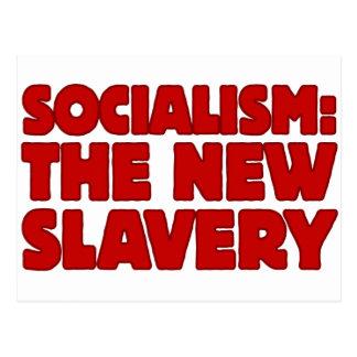 Socialism: The New Slavery Postcard