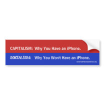 Socialism - Why You Won't Have An iPhone Bumper Sticker