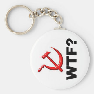 Socialism? WTF? Basic Round Button Keychain