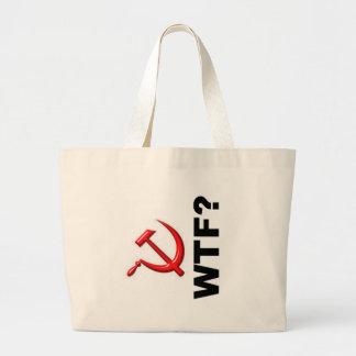 Socialism? WTF? Jumbo Tote Bag