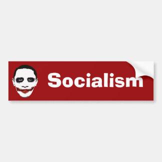 Socialismo Etiqueta De Parachoque